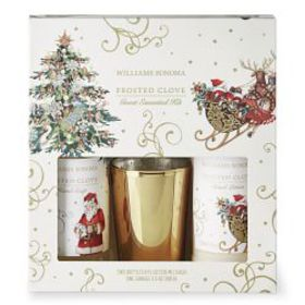 Williams Sonoma Twas' Guest Set, Frosted Clove
