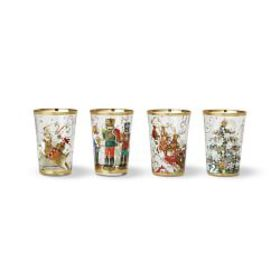 Twas the Night Mixed Tumblers, Set of 4