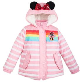 Disney Minnie Mouse Hooded Winter Jacket for Girls