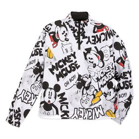 Disney Mickey Mouse Comic Pullover Windbreaker for