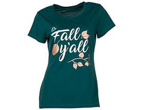 Natural Reflections® Women's Fall Y'all Short-Slee