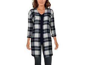 Natural Reflections® Women's Open-Front Long-Sleev