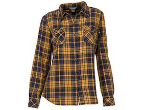 Natural Reflections® Women's Acid-Washed Plaid Lon