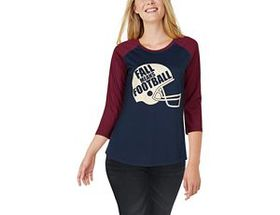Natural Reflections® Women's Fall Means Football T