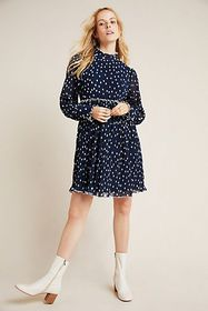 Anthropologie Rayna Dotted Tunic
