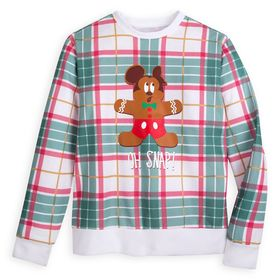 Disney Mickey Mouse Holiday Plaid Sweatshirt for A