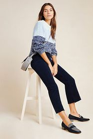 Anthropologie AG The Quinne High-Rise Cropped Flar