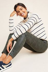 Anthropologie Joe's The Icon Mid-Rise Coated Ankle