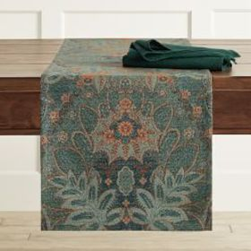 Tapestry Jacquard Statement Runner