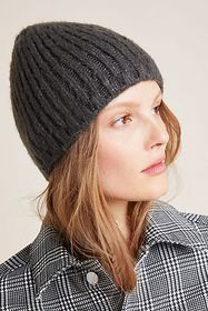 Anthropologie Caia Ribbed Beanie