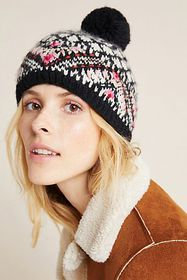 Anthropologie Telluride Fleece-Lined Beanie