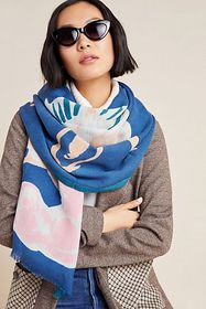 Anthropologie Nadine Wool Scarf