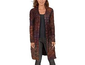 Natural Reflections® Women's Long-Sleeve Space-Dye