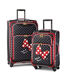 Disney by Minnie Mouse Red Bow Softside Luggage Co