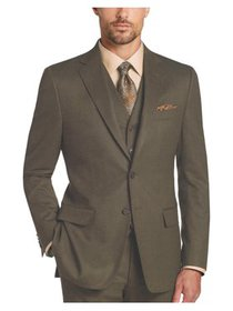 Mens Three Piece Two Button Modern Fit Italian Sty