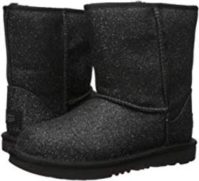 UGG Kids Classic Short II Glitter (Little Kid/Big
