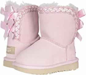 UGG Kids Classic Short II Braided (Toddler/Little
