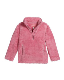 Joules Girl's Ellie Plush 1/4 Zip Pullover Size 3-