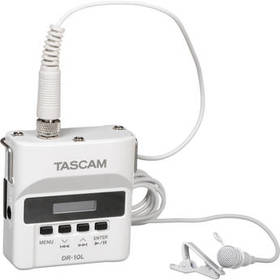 Tascam DR-10L Micro Portable Audio Recorder with L