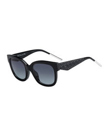Dior Verydior1 Square Acetate Sunglasses