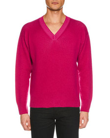 TOM FORD Men's V-Neck Cashmere Sweater