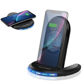 10W Qi Wireless Charger Pad Fast Wireless Phone Ch