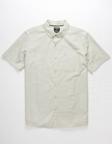 HURLEY One And Only Oatmeal Mens Shirt_