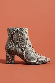 Anthropologie Seychelles Block-Heeled Ankle Boots
