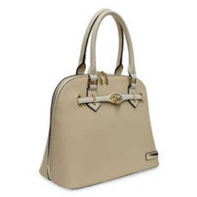 Adrienne Vittadini Jane Pebble Dome Satchel