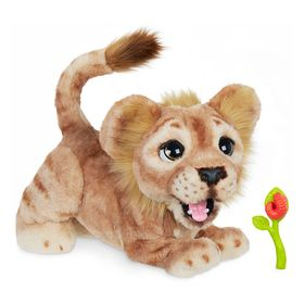 Disney Simba Mighty Roar Interactive Plush Toy by
