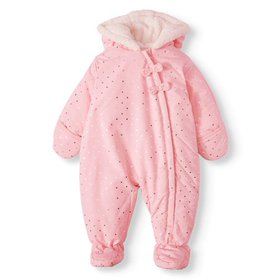 Child of Mine by Carter's Baby Girl Puffer Snowsui