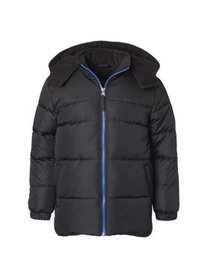 iXtreme Puffer Jacket with Contrast zipper - Free