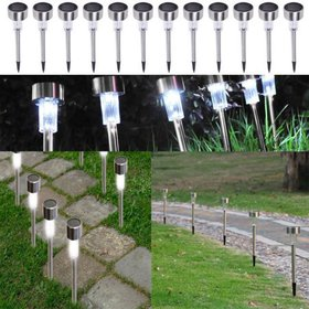 Zimtown 10PCS Spotlight Outdoor Stainless Steel LE