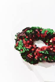 Forever21 Multicolor Sequin Scrunchie