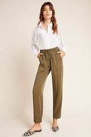 Anthropologie Curtis Tapered Utility Pants