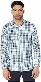 Perry Ellis Slim Fit Multicolor Check Resist Spill