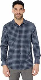 Perry Ellis Regular Fit Stretch Check Shirt