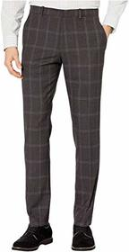 Perry Ellis Portfolio Very Slim Large Windowpane D
