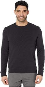 Perry Ellis Ottoman Rib Knit Long Sleeve Shirt