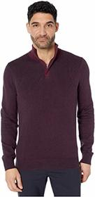 Perry Ellis 1/4 Zip Long Sleeve Sweater