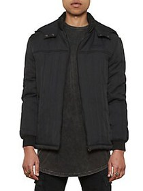 Nana Judy Pact Quilted Cotton-Blend Hooded Jacket