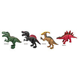 Just Kidz 4-Pack Dinosaur Play Set