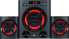 LG - XBOOM 40W Speaker System and Subwoofer Combo