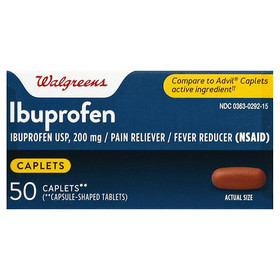 Walgreens Ibuprofen Pain Reliever/ Fever Reducer 2