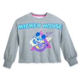Disney The Mickey Mouse Club Crop Top Pullover for