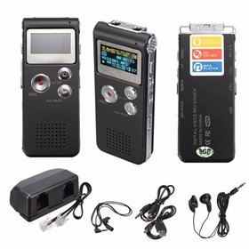 Digital Voice Activated Recorder - Easy HD Recordi