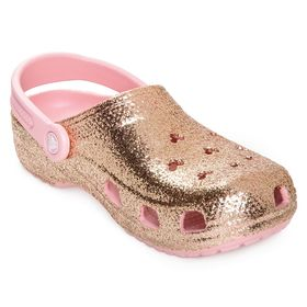 Disney Briar Rose Gold Clogs for Adults by Crocs
