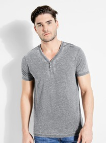 Herman V-Neck Henley