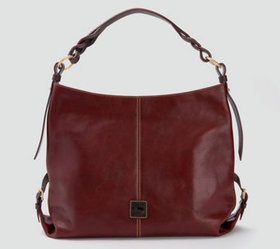 """As Is"" Dooney & Bourke Florentine Leather Twist S"