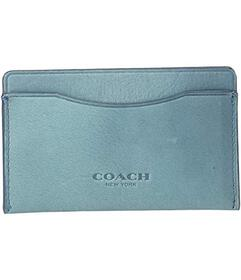 COACH Small Card Case in Hand Dyed Sport Calf